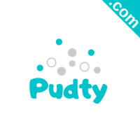 PUDTY.com Catchy Short Website Name Brandable Premium Domain Name for Sale