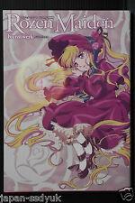 """JAPAN Rozen Maiden TV Animation Art book """"Kunstwerk"""" W/CD"""