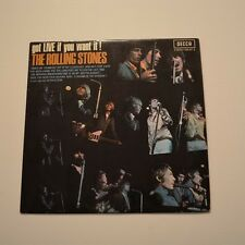 ROLLING STONES - Got live if you want it ! -1969 2nd EDITION LP FRANCE