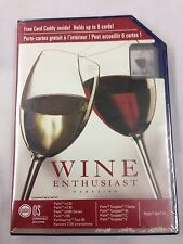 Wine Enthusiast Magazine For Palm OS - Free Card Caddy - New & Sealed