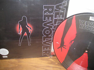 "VELVET REVOLVER Grammy Awarding ORIGINAL Sealed LP plus PICTURE DISC 12"" SINGLE"