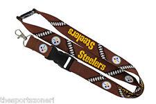Pittsburgh Steelers Football Laces Break Away Lanyard