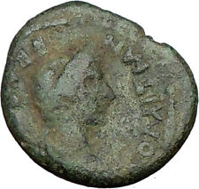 DOMITIAN & Empress DOMITIA Rare Ancient Roman Coin of Thessalonica  i20247