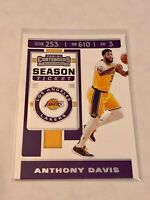 2019-20 Panini Contenders Basketball #7 - Anthony Davis - Los Angeles Lakers