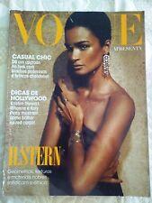 BRAZIL VOGUE H.Stern Magazine Cover Carol Ribeiro 2010 VG FASHION