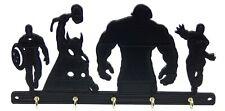 Superhero Marvel Avengers Key Rack Hanger Holder Entryway Organizer Hooks Decor