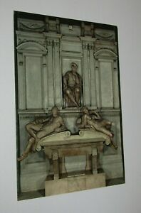 Medici Chapel Florence Italy Postcard Monument to Lorenzo de'Medici Michelangelo