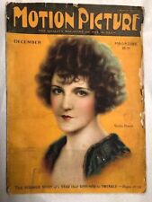 Motion Picture Magazine Dec 1924 Hollywood Entertainment Viola Dana On Cover