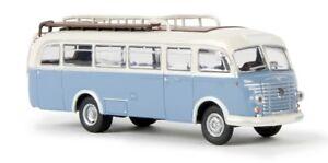 Brekina 58053 - 1/87 Steyr 480 A Bus - Bianco/Blu - Nuovo