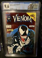 🔥🔥Venom Lethal Protector #1 CGC 9.6 W/ White Pages ~ Unpressed 🔥🔥