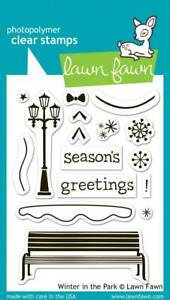 Lawn Fawn Clear Stamps – Winter in the Park