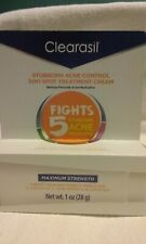 Clearasil Stubborn Acne Control 5 In 1 Spot Treatment Cream 1 oz