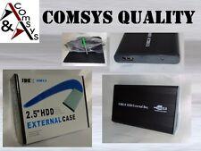 "2.5"" IDE Festplattengehäuse USB 2.0 Case ALU Externes Gehäuse Festplatte  #G25I"