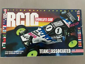 Team Associated RC10 Worlds Car NIB Rerelease 2014 #6002 SEALED