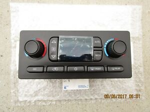 02 2002 CHEVY TRAILBLAZER A/C HEATER CLIMATE TEMPERATURE CONTROL BRAND NEW