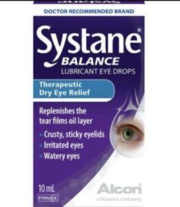 Systane Balance Lubricant Eye Drops- Dry Eye Relief -- 10ml