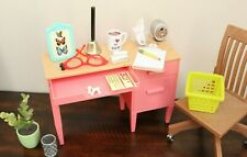 Our Generation Awesome Academy Teacher Desk + Accessories American Girl Doll Lot