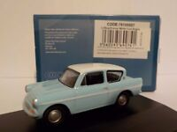 Ford Anglia - Harry Potter type Oxford Diecast 1/76 New Dublo, Railway Scale