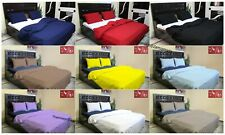 Indian All Size Of Vintage Plain Solid Doona Duvet Cover With Two Pillow Case