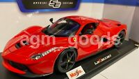 Maisto 1:18 Scale - Ferrari La Ferrari - Red - Diecast Model Car