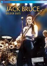 JACK BRUCE GOLDEN DAYS DVD NEW R0