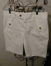 Banana Republic White Shorts ~ Size 6