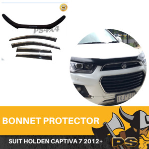 Bonnet Protector, Weathershields For Holden Captiva 7 CG Series 2 2011-18