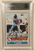 1979 Topps Signed Autographed ROD CAREW Baseball Card BAS Beckett