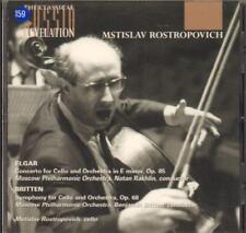 Rostropovich(CD Album)Cello Concerto-New
