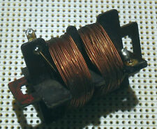 0.86mH + 0.86mH 2.4 ohm Choke Inductor Coil Inductance Air Cored Transformer