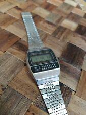 Seiko C359-5000 Calculator. 80's Vintage watch. Good condition.