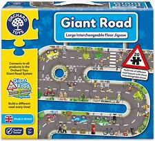 Orchard Toys GIANT ROAD JIGSAW Educational Game Puzzle BN