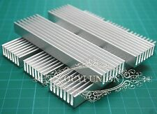 5pcs 100x25x10mm LED heat sink aluminum radiator power transistor integrated
