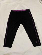 ULLA POPKEN sportswear, Sporthose, schwarz, 7/8, Gr. 54/56