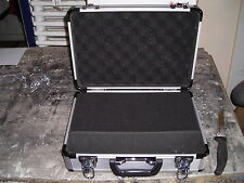 CHORD MICROPHONE AND LEAD CASE ALUMINIUM LOOK for small CAT5 modules127-037UK