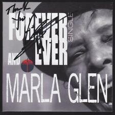 """MARLA GLEN CD Single """"Forever and Ever"""" NEU signiert IN PERSON Autogramm signed"""