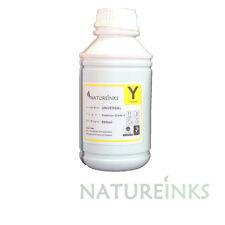 500ml Premium Yellow Universal Refill Ink dye Bottle CISS refillable cartridges