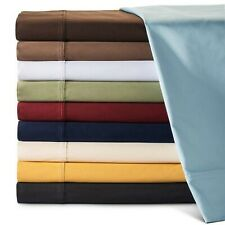 Glorious Bedding 1200TC Egyptian Cotton 1 PC Valance UK Single Solid Colors