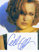 "Gillian Anderson Autographed 8"" X 10"" Photograph"