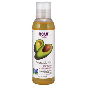 Now Foods Avocado 100% PURE MOISTURIZING OIL Soft Healthy Skin  Nutrient Rich
