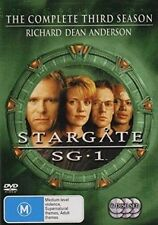 Stargate Sg-1 The Complete Season 3 Movie DVD R4 Megan Leitch