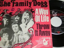 "7"" - Family Dogg / A way of Life & Throw it away - 1969 # 3628"