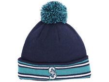 Seattle Mariners New Era MLB Classic Sport Knit Pom Hat Cap Fleece Beanie AC M's