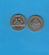 20 Francs Mont Saint-Michel 1992 V fermé 4 rangées de cannelures