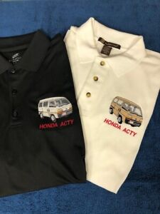 Embroidered Honda ACTY Golf Shirt