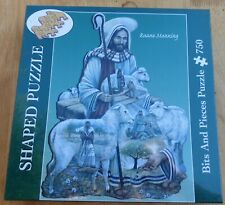"Shaped BITS & PIECES 750 piece Jigsaw Puzzle  ""The Good Shepherd"" New"