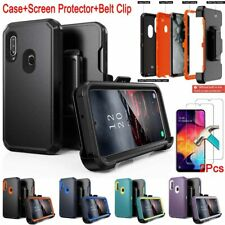 For Samsung Galaxy A20S Case+Screen Protector+Belt Clip Fits Otterbox Defender