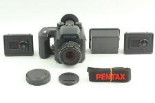 【MINT w/ Strap】 Pentax 645 NII N II SMC A 75mm f/2.8 + 120 Film back From JAPAN