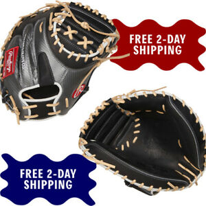 "RAWLINGS 34"" HEART OF THE HIDE HYPER SHELL BASEBALL CATCHER'S MITT THROWS RIGHT"