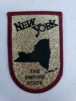 Vintage RARE Cash's New York The Empire State Patch Building Souvenir nt Voyager